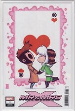 MR & MRS X #1 Skottie Young Baby Incentive Variant Cover Gambit Rogue Marvel NM+