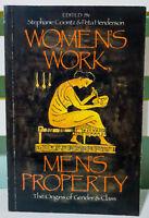 Women's Work, Men's Property Origins of Gender & Class! Feminism Womens Studies!