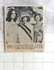1969 Carharrack Carnival Queen Valerie Wherry, Susan Bristow, Marie George