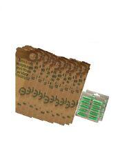 FOLLETTO VK 120 121 122 Kit 24 Sacchetti + 20 Profumi Aspirapolvere