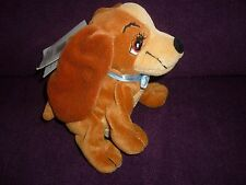 Disney Lady & the Tramp  Collectable Disney Lady Plush Dog  New With Tag RETIRED