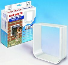 New listing Cat Mate Wall Liner Cat Flap Accessory Paintable