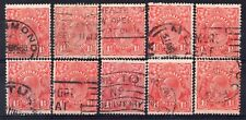 AUSTRALIA = GV 1-1/2d `Head`. 1926/30. Used. Unchecked for Shades, etc. (h)