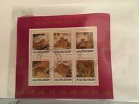 Majestic Tigers in the Wild stamps Sheet R23529