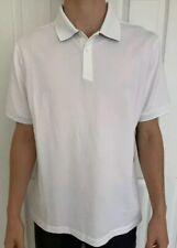 Lululemon Size S Tech Pique Polo White Wht Short Sleeve 5 Anti-Stink Evolution