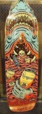 NARRAGANSETT BEER ~ RARE ~ Jaws Shark Art Skate Deck Board ~ Advertising Sign