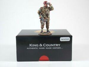King & Country. Lieutenant Jack Grayburn VC. MG033(P). Retired. MIB