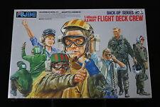 XB067 FUJIMI 1/48 maquette personnage 35003 600 Flight Deck Crew Back Up series