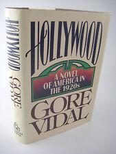 1st Edition HOLLYWOOD Gore Vidal FIRST PRINTING Historical Fiction NOVEL