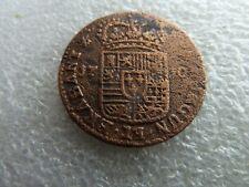 spanish netherlands  NAMUR  PHILIP V  1 LIARD 1710
