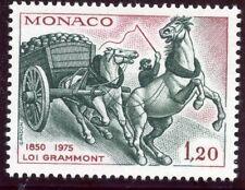 STAMP / TIMBRE DE MONACO  N° 1033 ** FAUNE / MAUVAIS TRAITEMENT DU CHEVAL