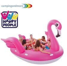 Happy People 77671 Mega-floater Flamingo XXL Schwimmtier 6 Personen 370 Cm