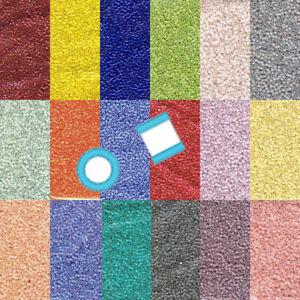 Miyuki Delica 11/0 7 grams 1200 Glass Seed Beads Opaque 32 colors U-Pick