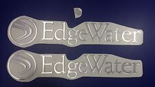 "EdgeWater boats Emblem 25.5"" + FREE FAST delivery DHL express - stickers decal"