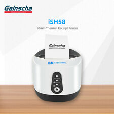 58MM USB Bluetooth Thermal Printer Portable Receipt Printer for PC Android iOS