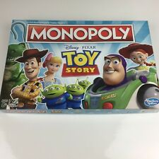 Monopoly: Toy Story Edition Hasbro Board Game Disney Pixar - Missing 1 Deed Card