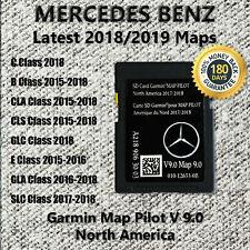 Mercedes-Benz SD Card Garmin GPS Map Pilot v9.0 Navigation 2019 North America US