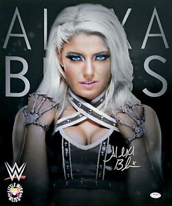 WWE ALEXA BLISS HAND SIGNED AUTOGRAPHED 16X20 PHOTO WITH PROOF AND PSA DNA COA 2