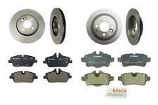 NEW Mini Base R55 R56 Cooper Set of 2 Front + 2 Rear Disc Brake Rotors and Pads