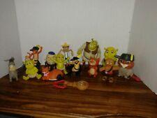 Shrek babies humpty Donkey puss n bootsToy Figure Dreamworks Lot (14) McDonalds