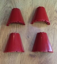 Lego Cone Half 8x4x6 Part 48310 for Star Wars 7665 Dark Red Set Of 4 Pcs.