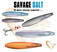 Savage Gear Salt Eel Pout Line Thru LT Seeker Lures Bass Perch Seatrout Fishing