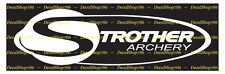 Strother Archery - Hunting/Outdoor Sports - Vinyl Die-Cut Peel N' Stick Decals
