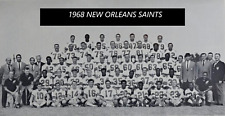 1968 NEW ORLEANS SAINTS 8X10 TEAM PHOTO NFL FOOTBALL PICTURE WIDE BORDER
