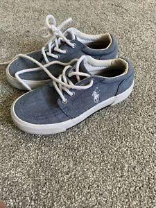 Ralph Lauren Polo Kids Shoes Size 12.5