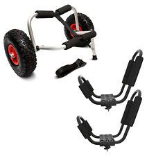 ABN® | Kayak Cart & J Rack Bundle – Kayak Carrier & J Bar Rack Roof Top Carrier