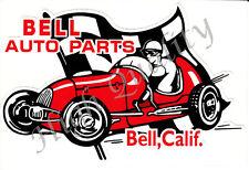 BELL Auto Parts sticker. Y047