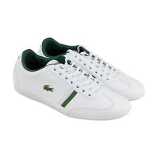 Lacoste Misano Sport 116 1 Spm Mens White Leather Sneakers Shoes 8