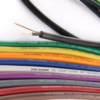 Van Damme PRO Grade XKE Instrument Cable. Best Guitar, HiFi, Bass Cord Wire