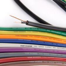 Van Damme PRO Grade XKE Instrument Cable. Best Guitar HiFi Bass Cord Wire Bulk