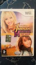 Hannah Montana The Movie WII VERSIONE UFFICIALE  ITALIANA SIGILLATO
