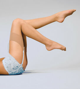 Smooth Knit Sheer Stockings by Silky Black N Tan Mink Chiffon Nude O/S Reg L