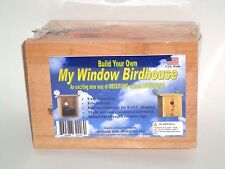 Build Your Own My Window Birdhouse KIT!! Window Mount Nesting View Educational