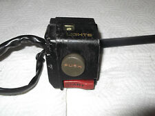 Honda NH125 LEAD R/H Right Hand Switch with lever.