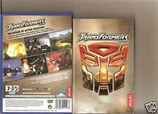 TRANSFORMERS  PLAYSTATION 2 PS2 PS 2 RARE RETRO CARTOON
