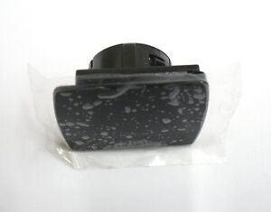 VAUXHALL ASTRA H POWER OUTLET SOCKET COVER PIANO BLACK NEW GENUINE 04-10