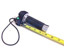 HANDLEBAR GRIP Throttle Clamp Kill Switch DB49CC Mini Dirt Bike BLACK M GR16