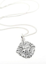 Forest Mother Goddess Pendant Necklace 925 Sterling Silver Jewellery Boxed Gift