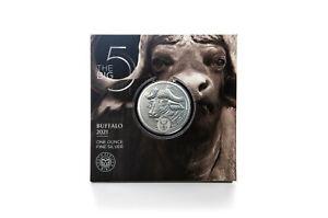 5 Edge Big Five - Buffalo South Africa 1 OZ Silver Bu 2021