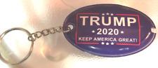 Trump 2020 Make America Great Key Chains W/Light