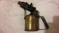 Vintage Companion Brass Blowtorch Made in Aust under licence Max Sievert Sweden