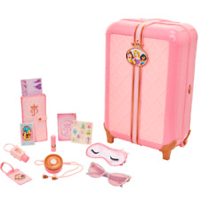 Disney Princess Travel Suitcase Play Set for Girls with Luggage Tag by Style 17