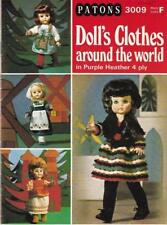 Patons Vintage Doll Clothing Crocheting & Knitting Patterns