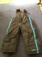 Pacific Trail Snow Ski Pants BIBS w/ Suspenders Children's size 2T 24 Months