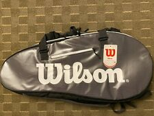 Wilson Super Tour 2 Large Compartment Grey Tennis Bag Wrz843909