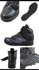 Adidas by Jeremy Scott JS Wings Molded Baskets ELLE gris neuf taille 5UK Baskets